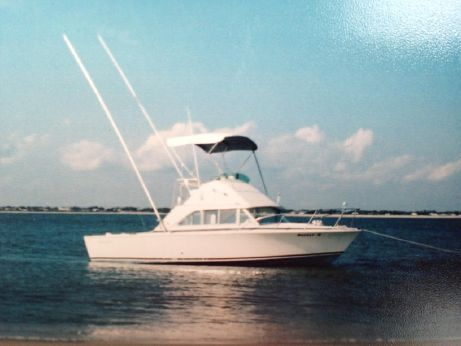 1975 Bertram 26 Flybridge Cruiser