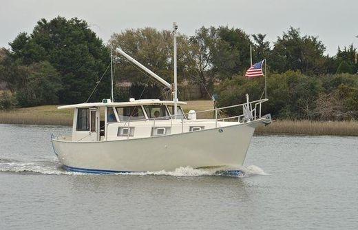 1976 Schucker 40' shallow draft trawler
