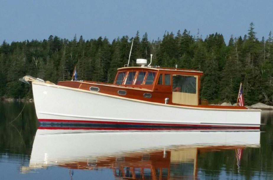 Lobster Boats For Sale >> 1973 Bunker Ellis Downeast Lobster Yacht Power Boat For Sale