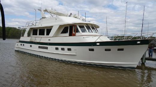 2002 Grand Alaskan Flush Deck Motoryacht