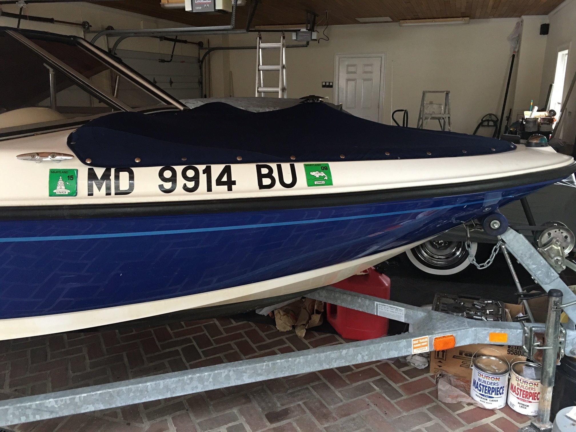 2006 bayliner 175 power boat for sale for Outboard motors for sale maryland