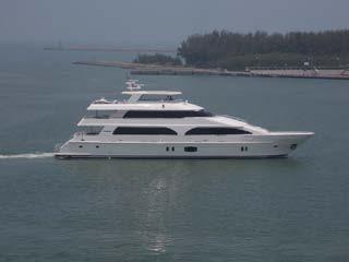 2015 President Yachts 115