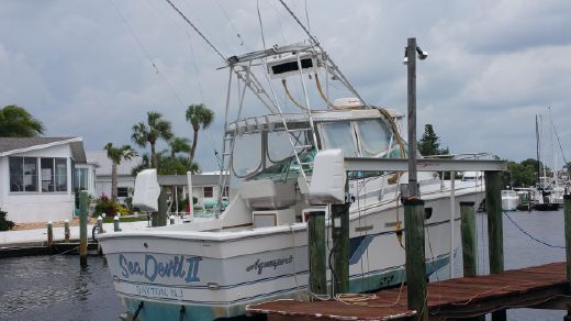 1987 Aquasport 270 Express Fisherman