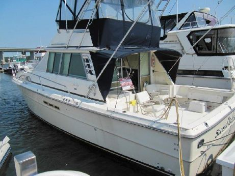 1986 Sea Ray 390 Sport Fisherman