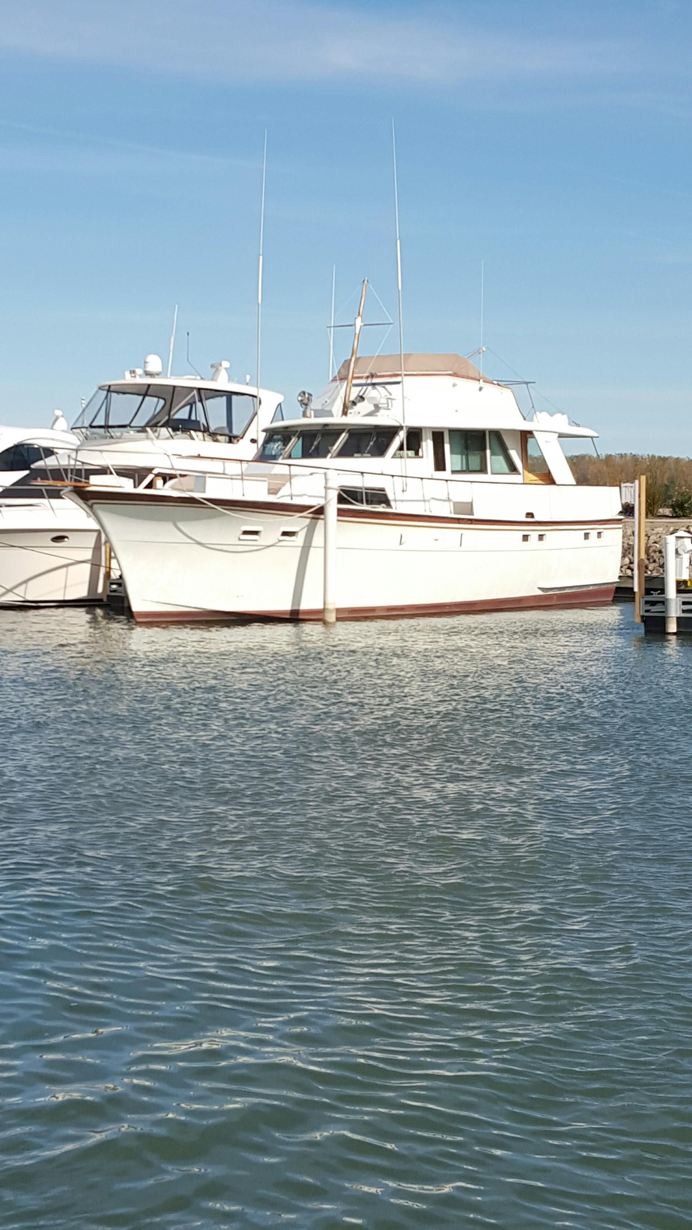 1973 hatteras motoryacht power new and used boats for sale for Klakring motor co annapolis