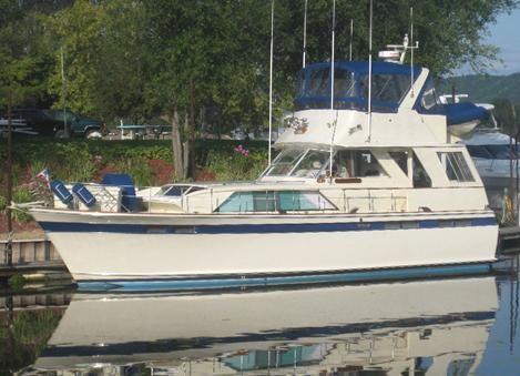 1972 Chris-Craft Commander 47