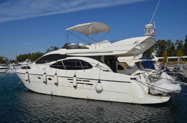azimut 46 fly boats for sale