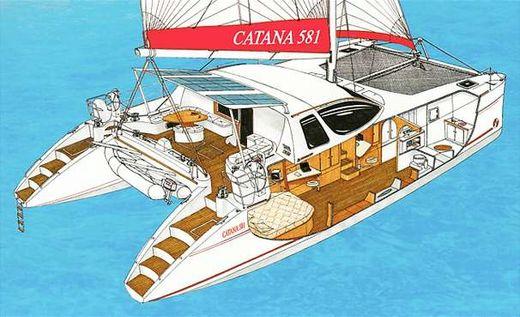 2002 Catana 58