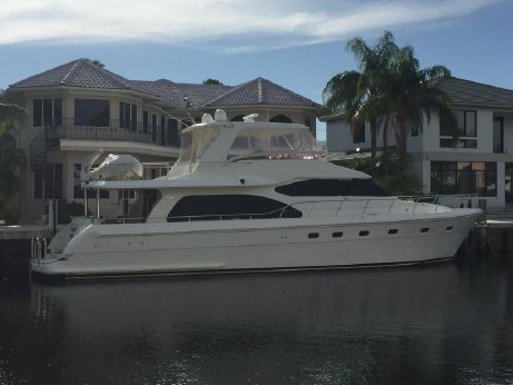 2007 Hampton 68 Pilothouse