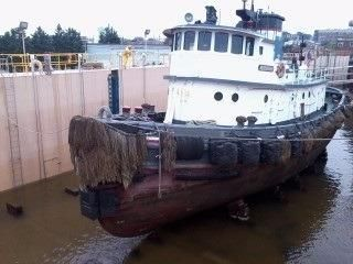 1944 Model Bow Tug Ocean Coastwise Towing and Harbor
