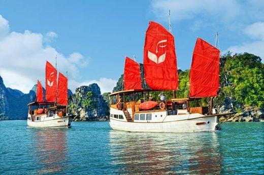 2008 Custom Floating Resort of 22 custom built Vietnamese Junks