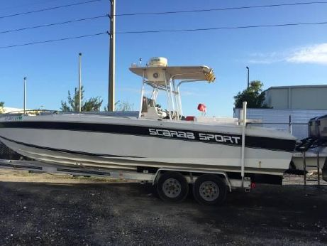 1986 Scarab 30 Center Console