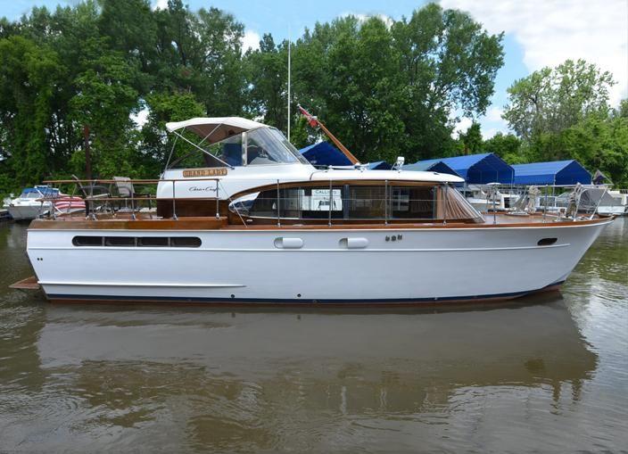Foot Chris Craft Yacht