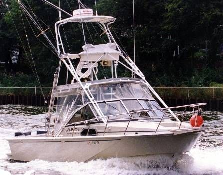 27 ft 1989 boston whaler offshore