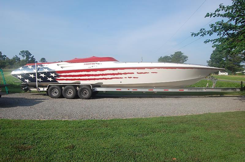 2003 Fountain 42 Lightning Power Boat For Sale - www.yachtworld.com