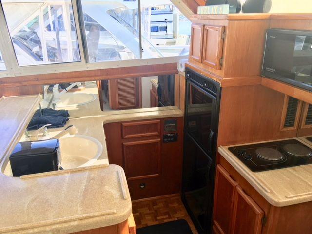 Egg Harbor 38 Galley Kitchen
