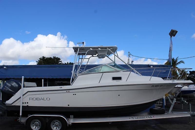 1999 robalo 2640 walkaround power boat for sale www for Robalo fish in english