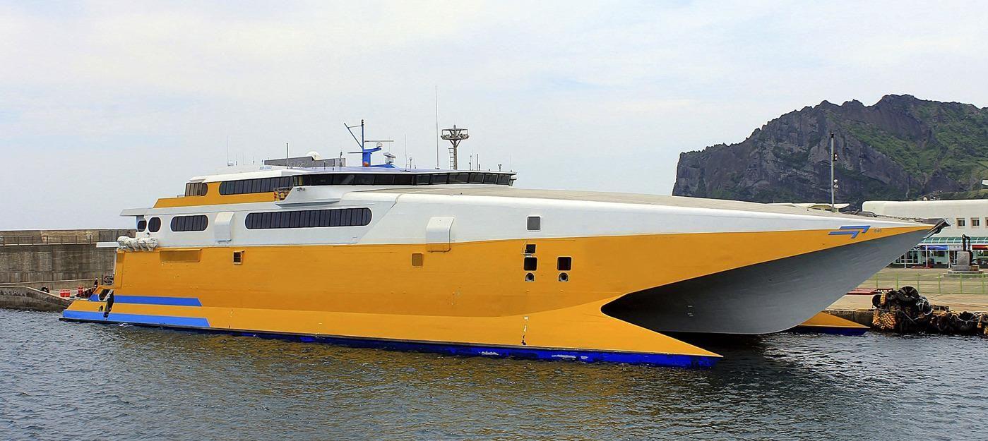 1996 Incat Fast Ropax Catamaran Motor Boot Zum Verkauf