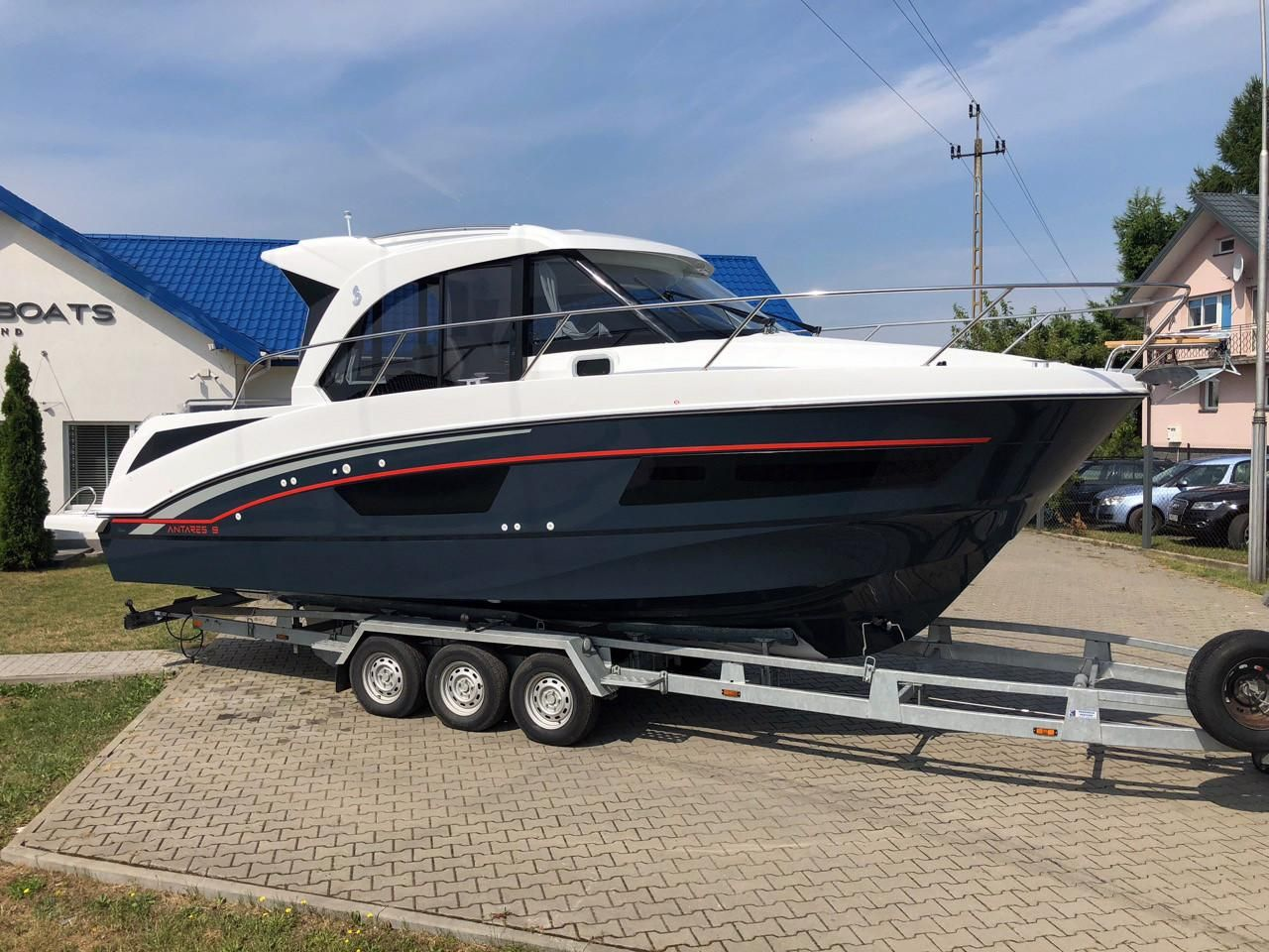 2018 Beneteau Antares 9 Ob Power Boat For Sale Wiring Diagram Also Touch Light Switch As Well Trailer Led Lights