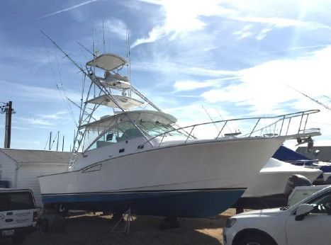 2000 Cabo Yachts 35 Express Tower