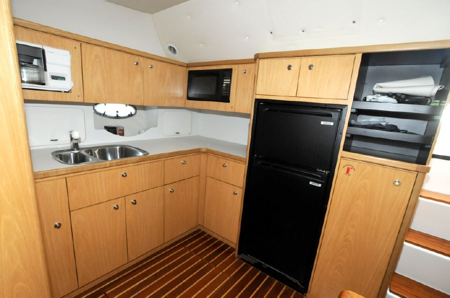 Tiara 4100 Open Galley Kitchen