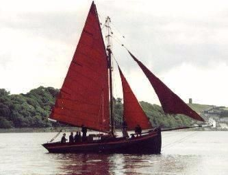 1872 Galway Hooker