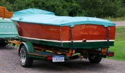 1955 Chris Craft Sportsman and truck