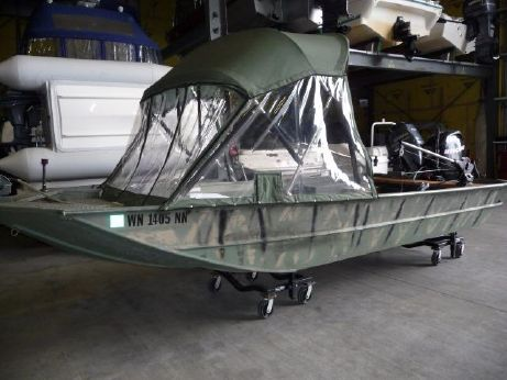 2004 Smoker Craft 1660 Jon MV/DLX