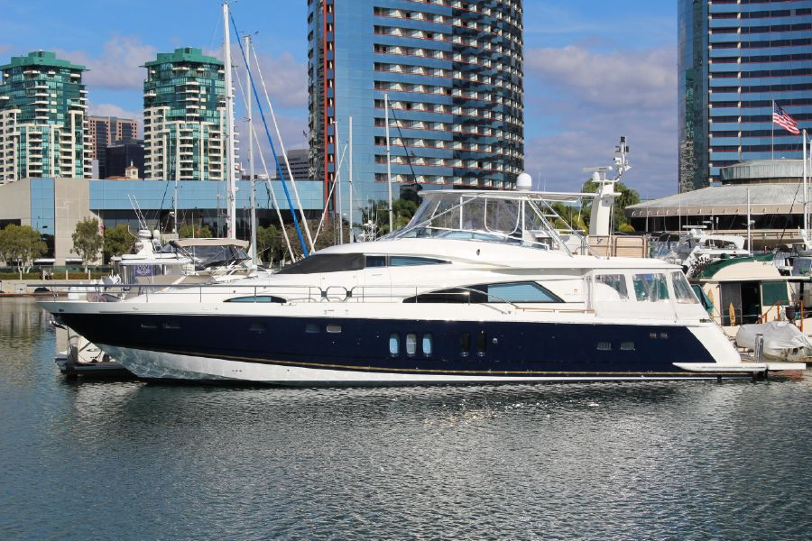 Fairline 74 Custom Yacht for sale in San Diego