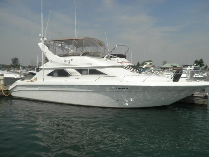 Sea Ray Boat >> 1997 Sea Ray 440 Express Bridge Power Boat For Sale - www.yachtworld.com