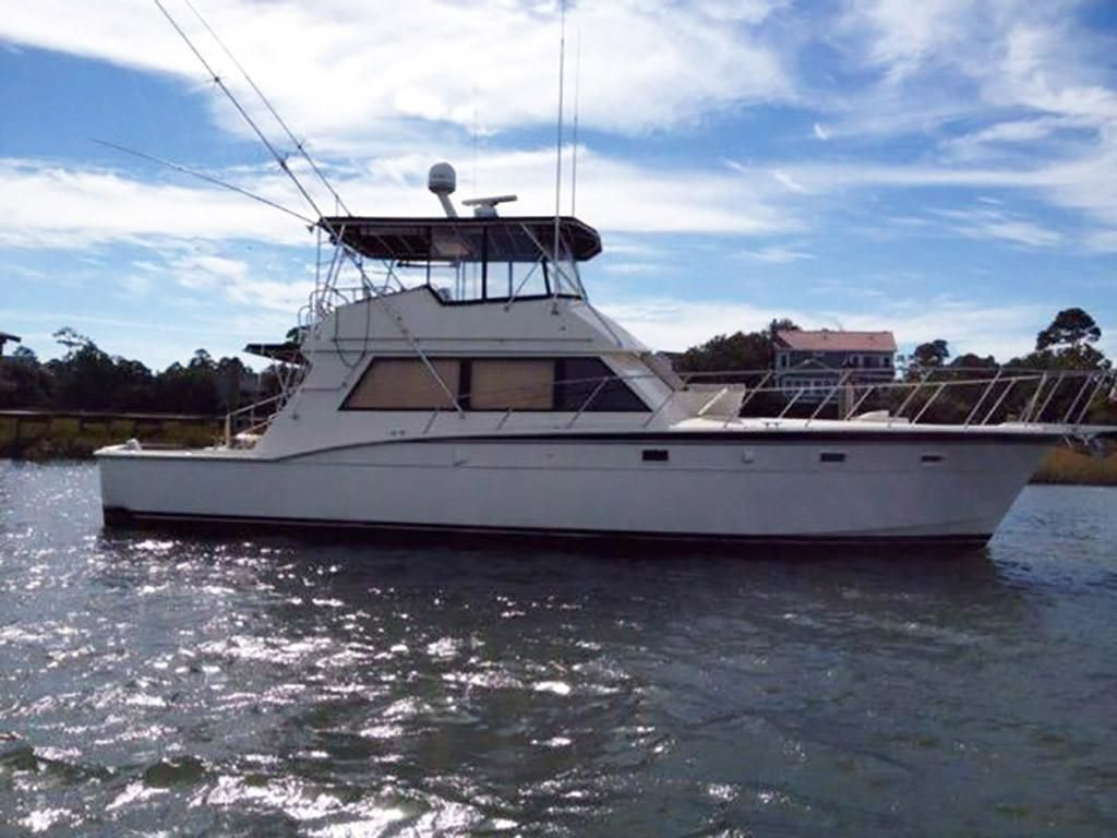 1984 Hatteras 52 Convertible Power Boat For Sale - www.yachtworld.com