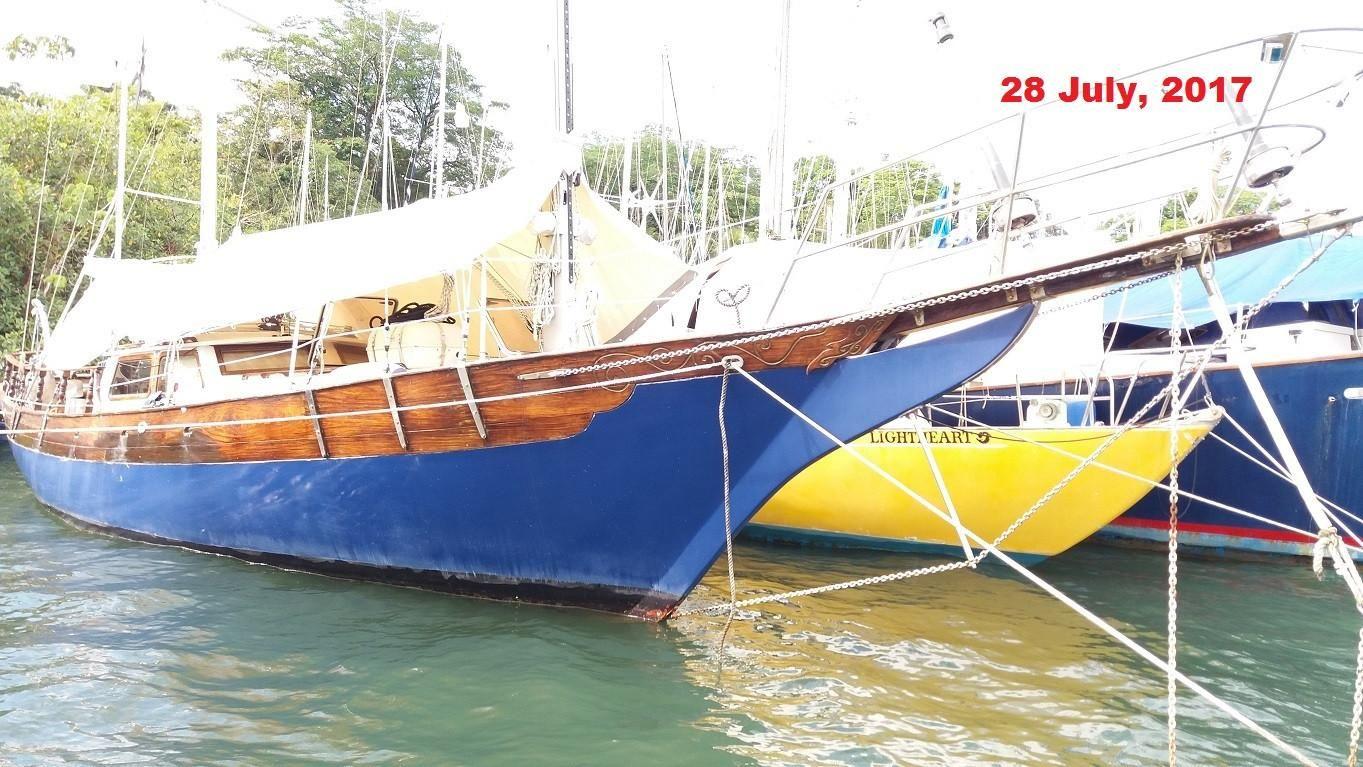 1998 custom william garden formosa design sail new and for William garden sailboat designs