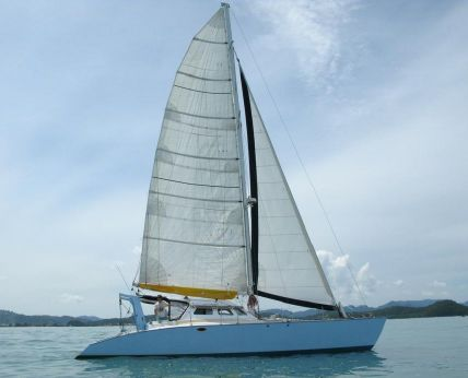 1990 Crowther Spindrift 44