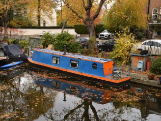 thumbnail photo 0: 1981 Narrowboat 42ft with London mooring