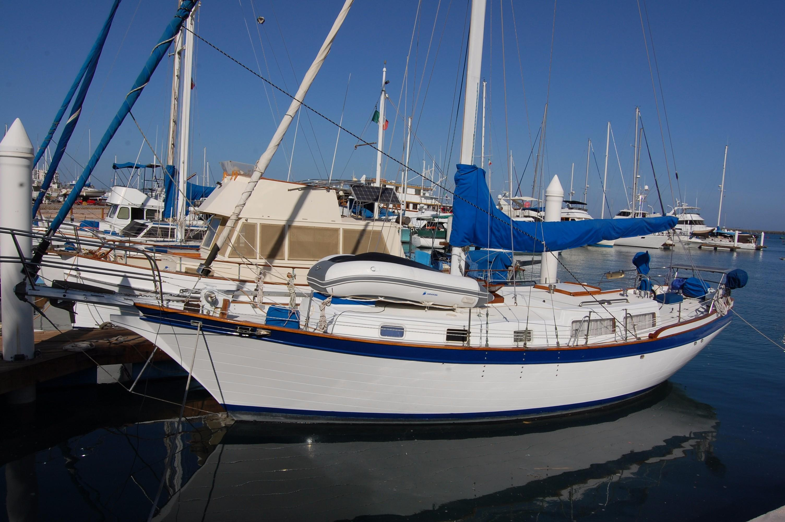 38' Downeaster Cutter+Boat for sale!