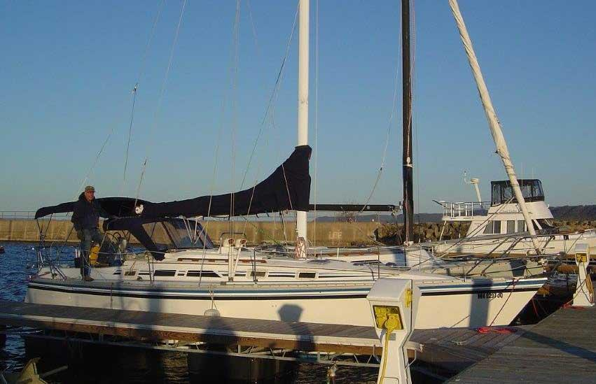 Insurance Brokers Of Mn >> 1985 Hunter 34 Sail Boat For Sale - www.yachtworld.com