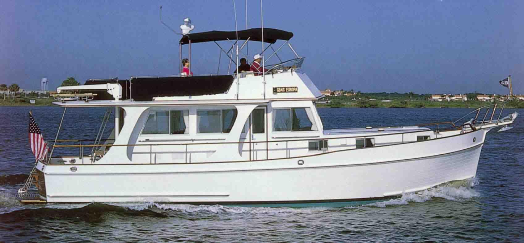 1997 grand banks 46 europa power boat for sale www for Grand banks motor yachts for sale