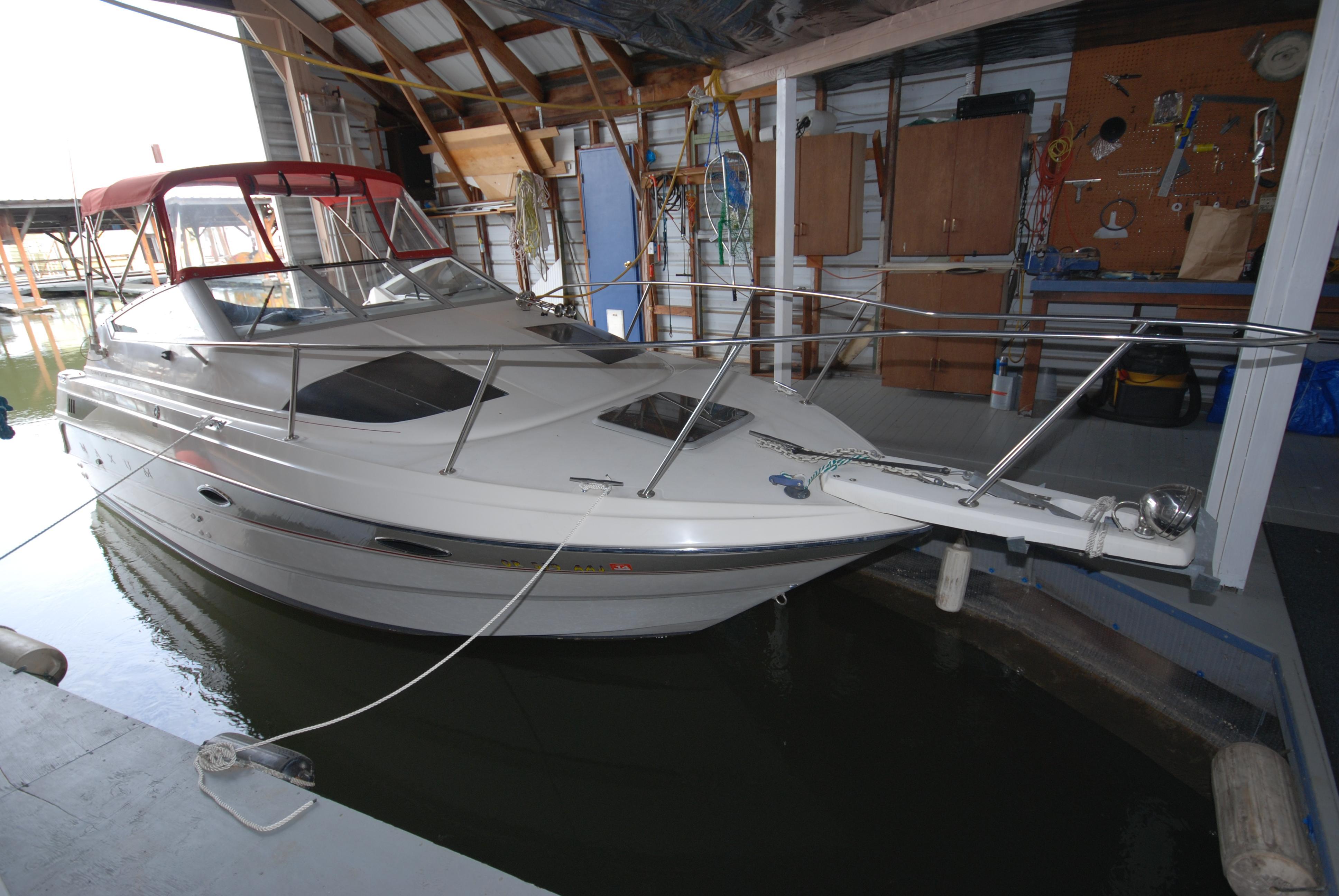 24 ft 1993 maxum aft cabin