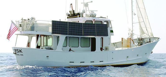1965 romsdal trawler moteur bateau vendre www for Garden design trawler boat