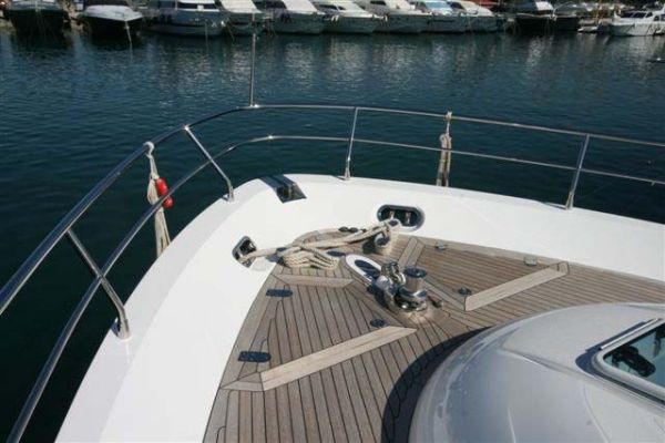A very nice example of a Fairline Squadron 68, 2009 model currently lying in ...