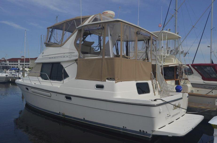 1999 Bayliner 4087 Cockpit Motoryacht Diesel Power Boat For Sale