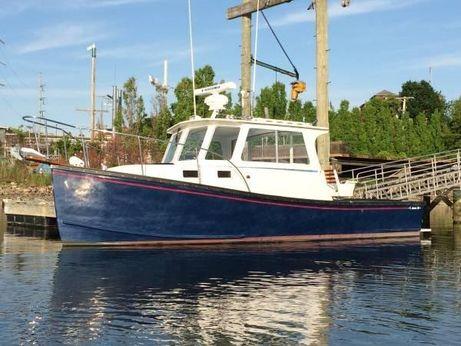 2001 T Jason Downeast Lobster Cruiser - Terry Jason 28