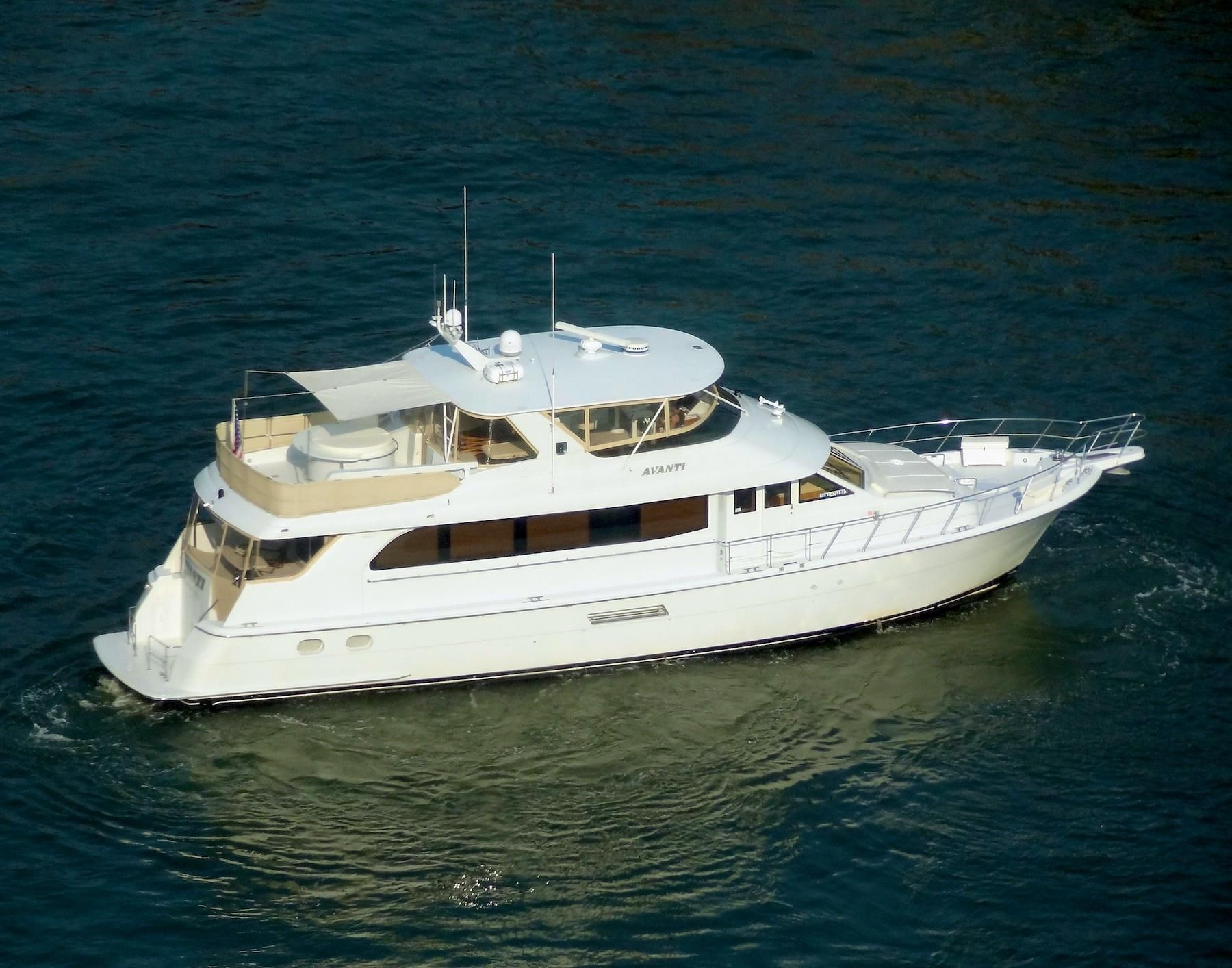 2002 hatteras 75 motoryacht power new and used boats for for Hatteras motor yacht for sale