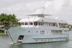 2005 Buccaneer Inace Expedition Yacht w Helipad