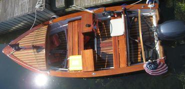 thumbnail photo 0: 1950 Custom Speed Boat with 25 Yamaha