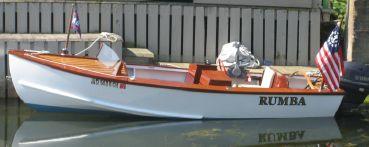 thumbnail photo 1: 1950 Custom Speed Boat with 25 Yamaha