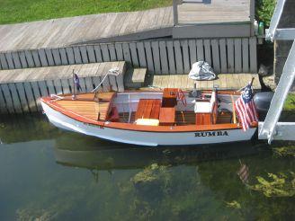 thumbnail photo 2: 1950 Custom Speed Boat with 25 Yamaha