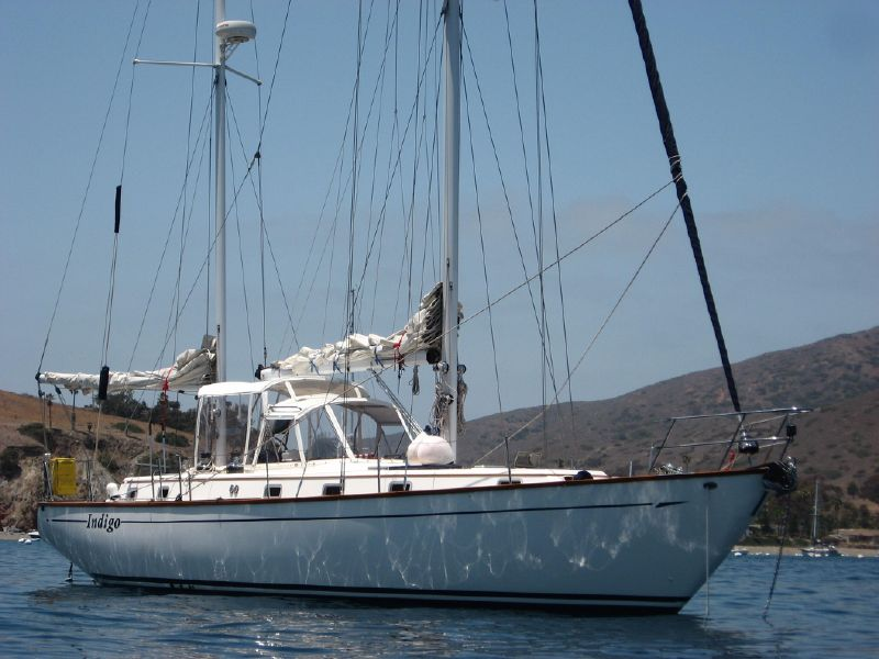 photo of 48' Celestial Bluwater 48