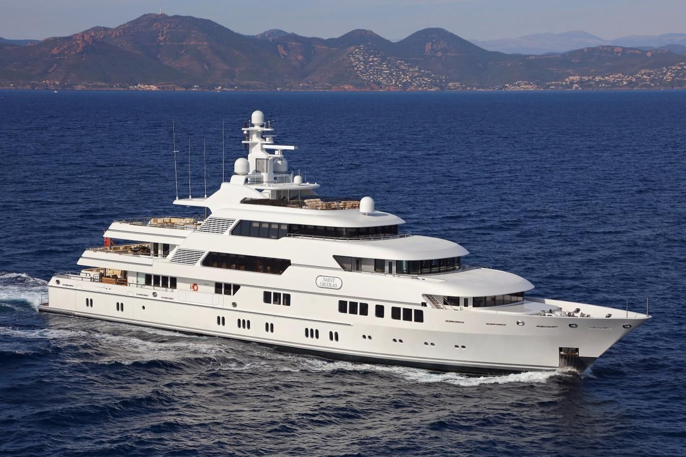 2007 lurssen full displacement power boat for sale www for Lurssen yacht genova